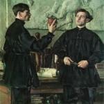Портрет братьев Павла и Александра Кориных
