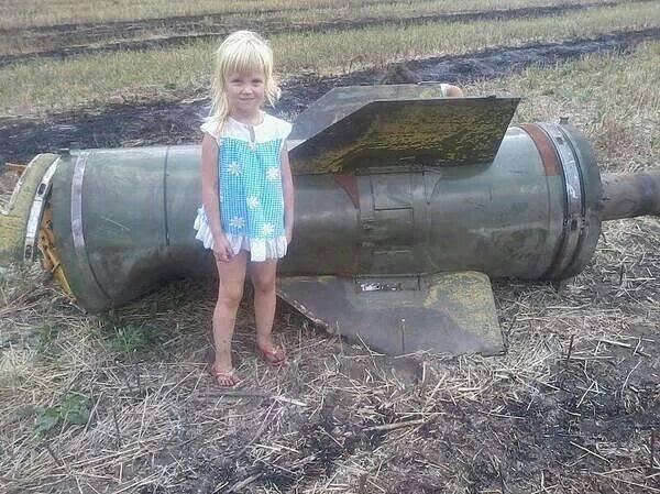 Девочка из Новороссии