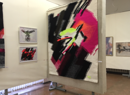 Выставка О. Толстиковой в Историко-краеведческом и художественном музее Тулы, 2019.